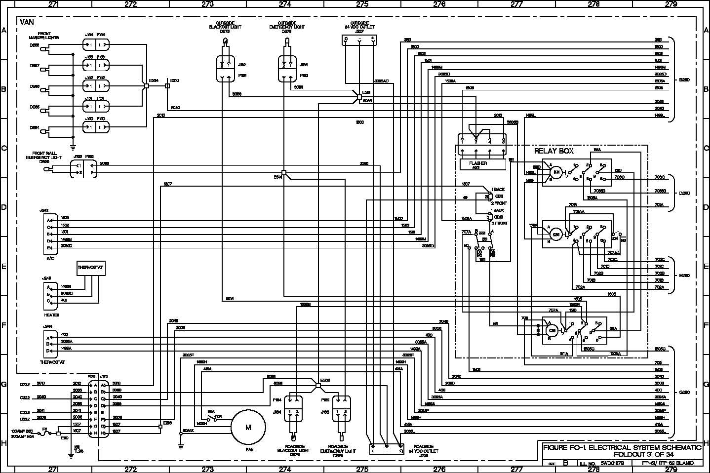 electrical system schematic - TM-9-2320-365-20-5_539 on